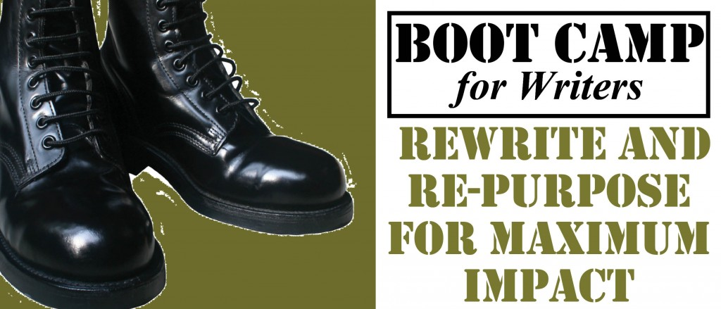 Boot Camp,  Rewrite and Re-purpose
