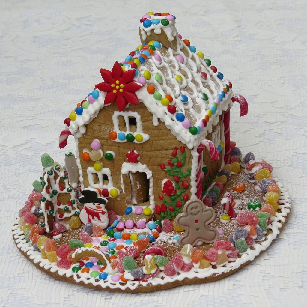 Traditions... Gingerbread House