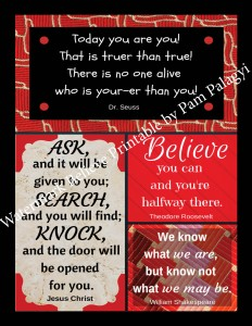 Believe Printable Watermark