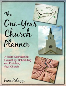 One Year Church Planner Cover